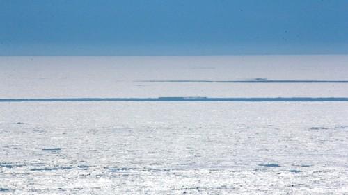 北海道写真素材:知床の流氷 (7)