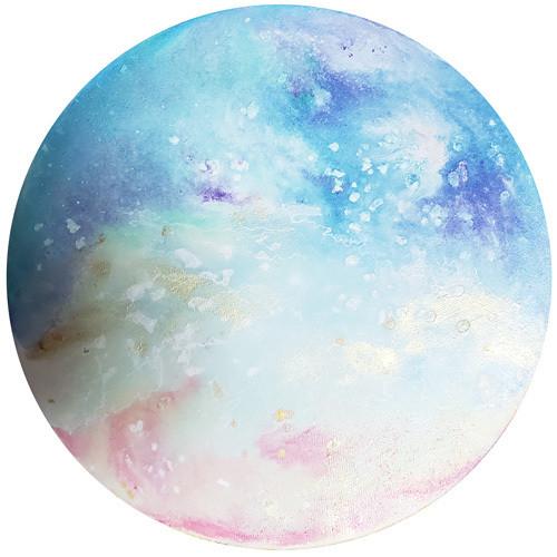 山口奈々絵画 原画「月光-phases of the moon-」