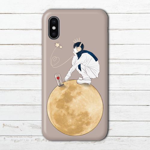 #089-017 iPhoneケース スマホケース おしゃれ メンズ シンプル おすすめ アクオス AQUOS ケース タイトル:星の王子様 作:7.7.4(ナナシ)