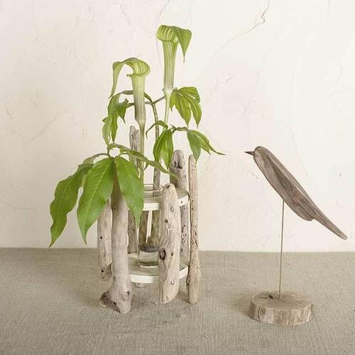 流木の花器-7
