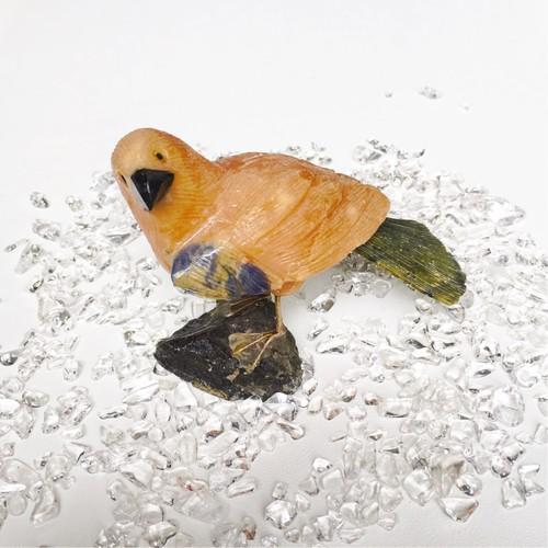 鳥の置き物 d-36