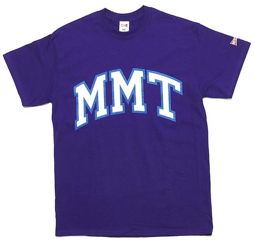 MMT S/S COOP TEE - PURPLE