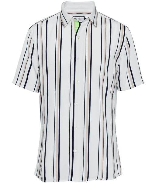 MULTI STRIPE SHORT SLEEVE SHIRTS[RUS002]