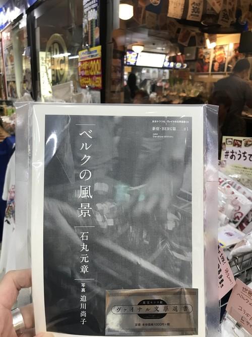 ヴァイナル文學選書「ベルクの風景」石丸元章 写真/迫川尚子