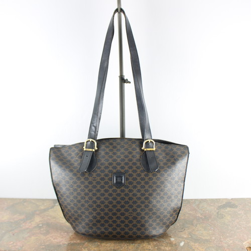 .OLD CELINE MACADAM PATTERNED TOTE BAG MADE IN ITALY/オールドセリーヌマカダム柄トートバッグ 2000000040585