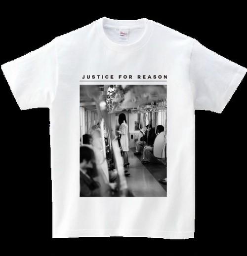 【社畜コア】今日もこの電車から始まる Tシャツ / Justice For Reason