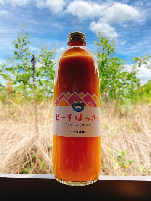ピーチ(黄桃)&八朔ジュース 500ml