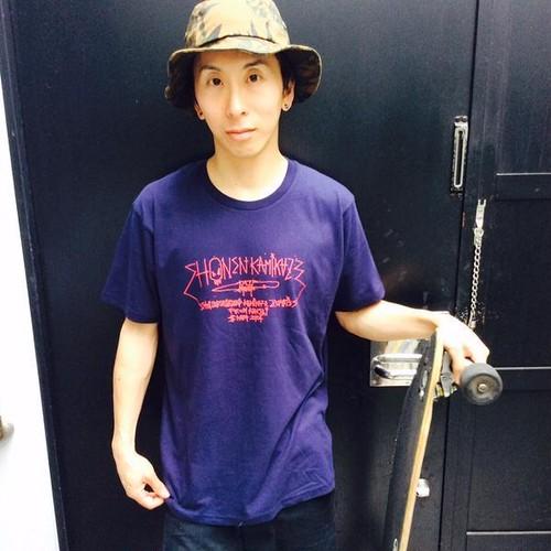 SKZ2015 夏手書き風Tシャツ