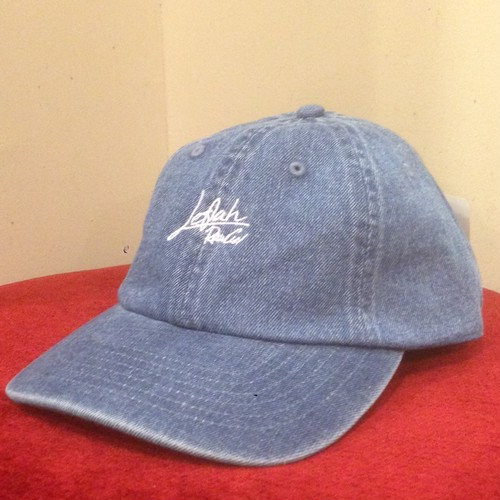 "LEFLAH / レフラー | Low-Cap "" Script Logo "" / Denim-Blue"