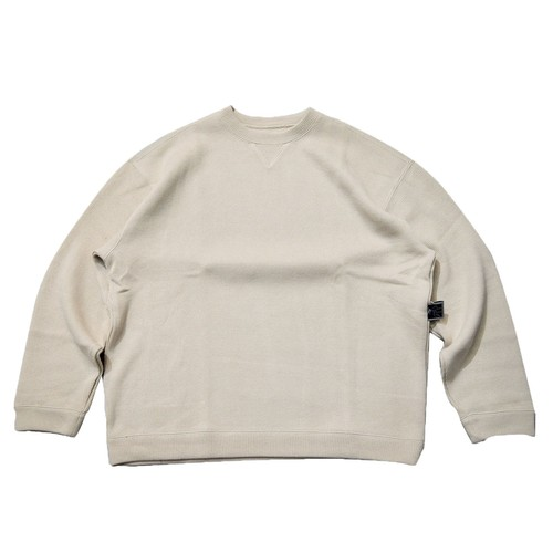 NOROLL / ATHLETIC KNIT SWEAT -OFF WHITE-
