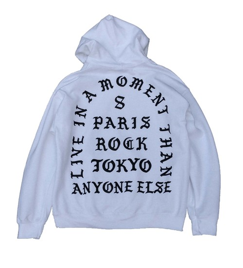 """LIVE IN A MOMENT"" HOODIE"