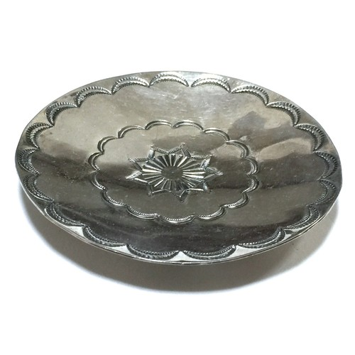 Navajo Vintage Sterling Silver Ring Tray