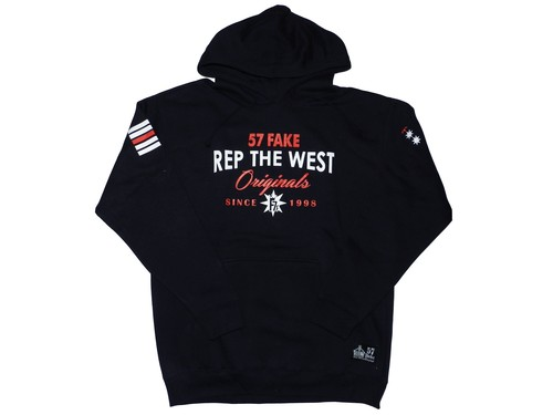 Rep The WEST(57FAKE)Navy×Red