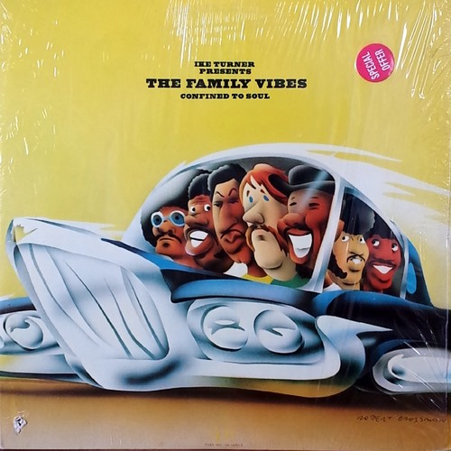 Ike Turner Presents The Family Vibes - Confined To Soul