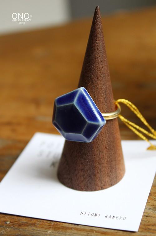 POTTERY STUDIO K jewelリング ブルーB