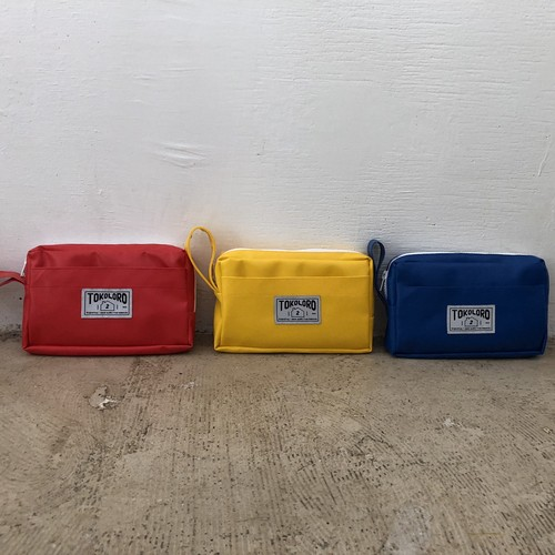 BANK$ Pouch Red/Yellow/Blue