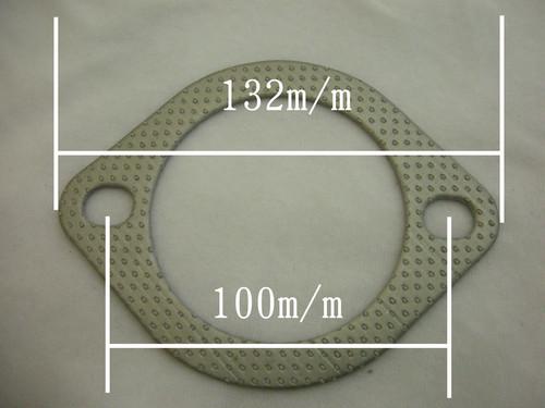 マフラー用ガスケット 76φ楕円(長穴)