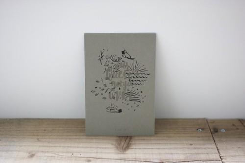 オリジナル活版印刷ポストカード