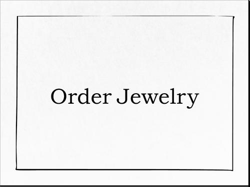 Green Onyx Earrings /(片耳)