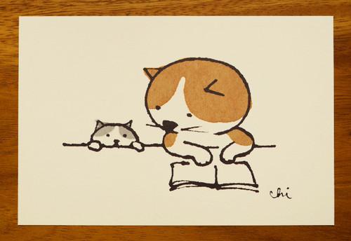 にゃんきーとすポストカード よみきかせ[NKPC-05]