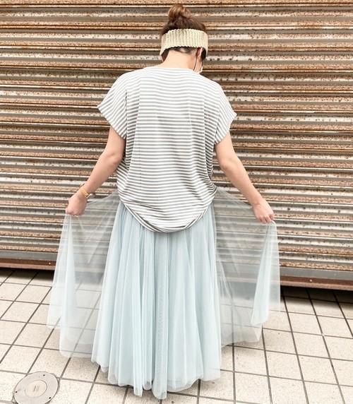furryrate チュールボリュームギャザースカート