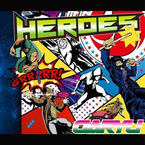 我龍4thCDアルバムHEROES