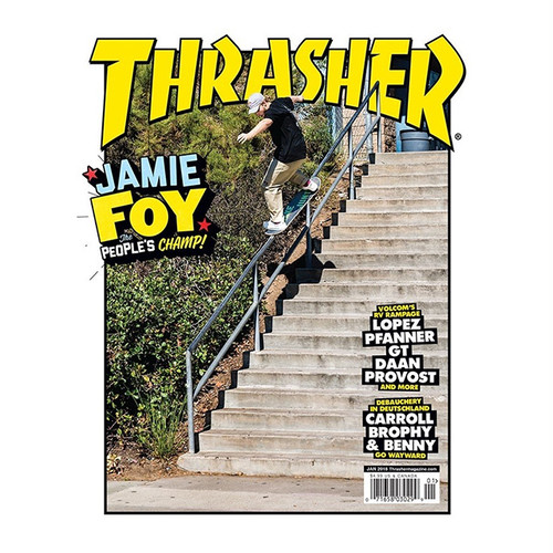THRASHER - January 2018. Issue 450