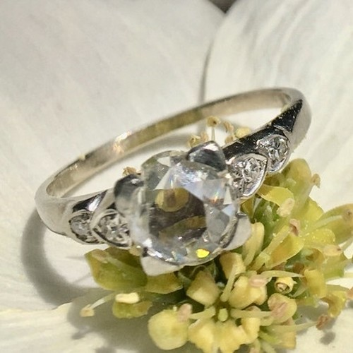 Old cut Diamond Ring