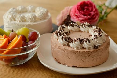 グルテンフリー&アレルギー対応 デコレーションケーキ チョコ