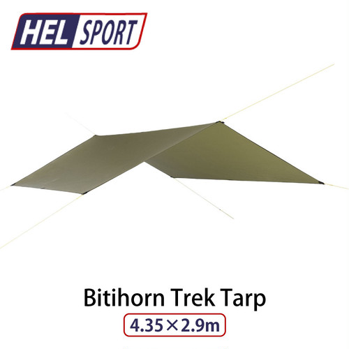 HELSPORT (ヘルスポート) Bitihorn Trek Tarp 4.35x2.9m 北欧 生まれの 高機能 テント オールシーズン シンプル ハイ デザイン ファミリー キャンプ 用品 アウトドア イベント グッズ