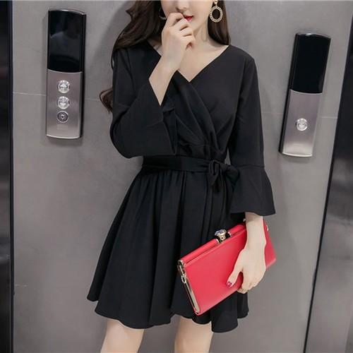 【ワンピース】若く見えファッションデートワンピース17160174