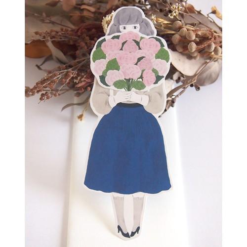 happy birthdayカード お花とセリフ