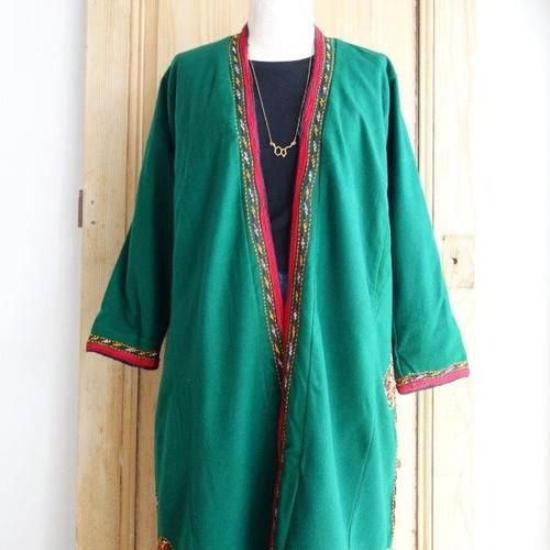 ウズベキスタン vintage刺繍チャパン