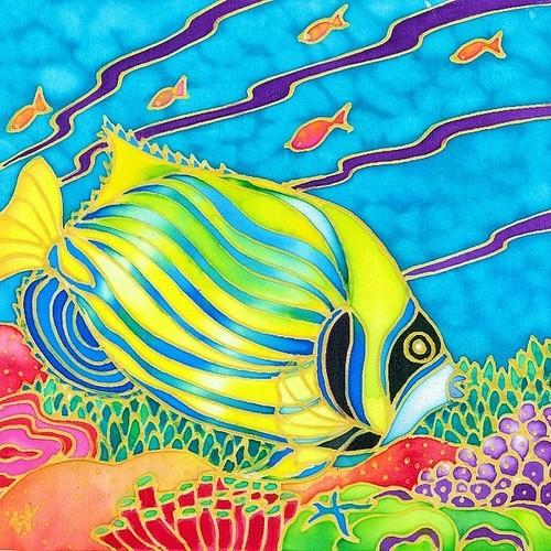原画 Colorful tropics  10