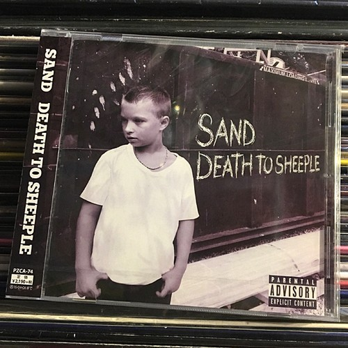 SAND / death to sheeple (CD)