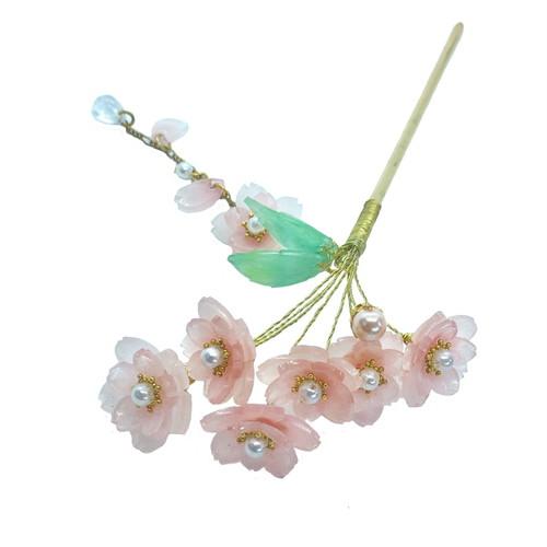 桜かんざし 桜豪華