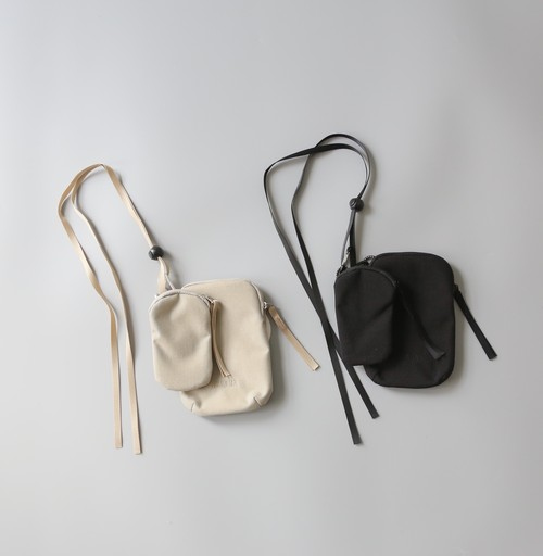 MOUN TEN.(マウンテン)/ mini porch / beige・ black