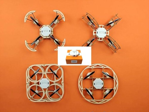Wooden DIY Drone with camera (4in1)