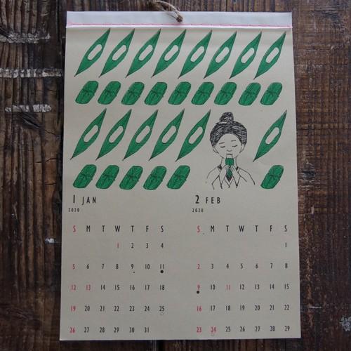 【manoオリジナル】2020沖縄カレンダー(kitoco.)