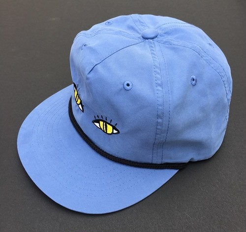 SNAKE EYES CAP  (LIGHT BLUE)