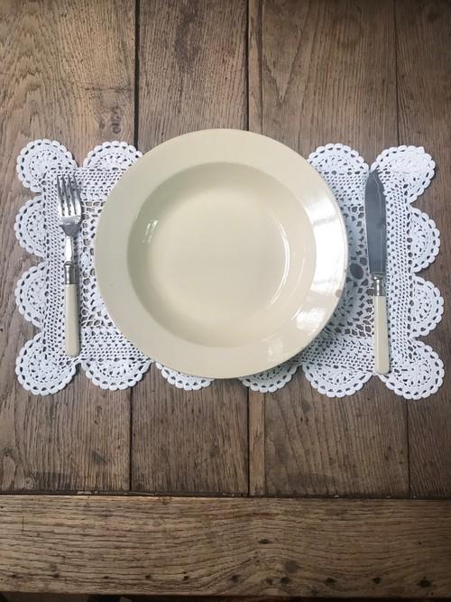 Boch Frères ベルギーアンティーク スープ皿 F