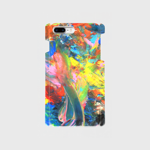 LOVE YOU iPhone7Plus 側表面印刷スマホケース ツヤ無し(マット)