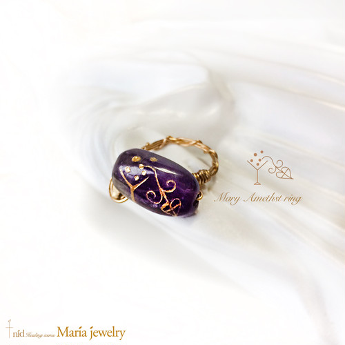 Maria Jewelry ・Amethyst Ring