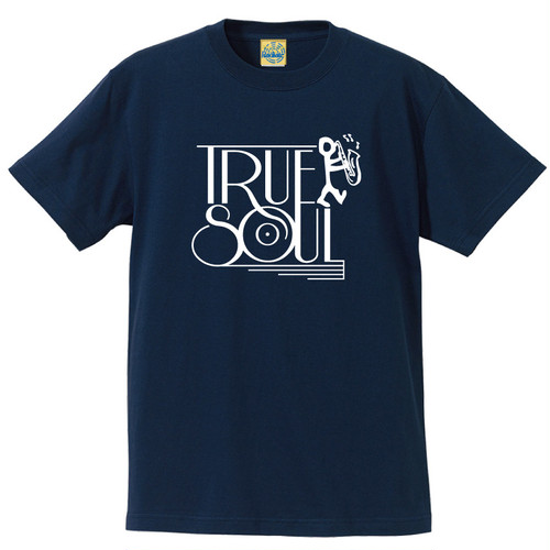 [TRUE SOUL] T-shirt / Navy