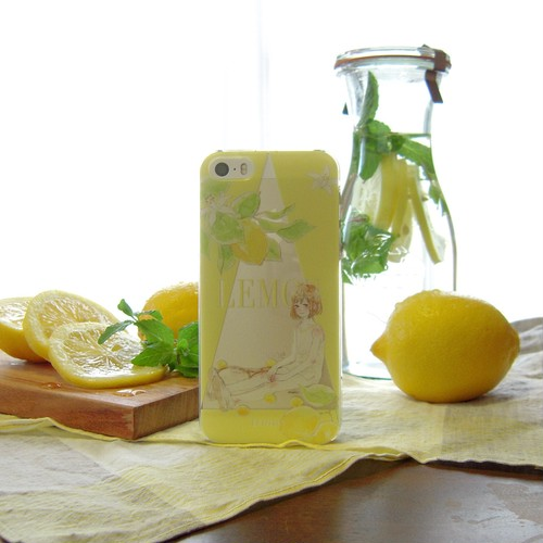 iPhone case:LEMON