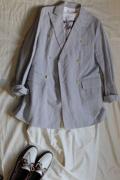 【SALE 70%OFF】Double Jacket C/L Hickory