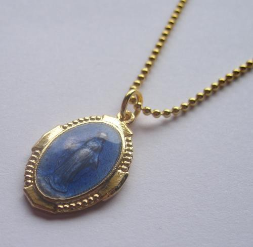 TheDelight COLOR MEDAI PENDANT BLUE