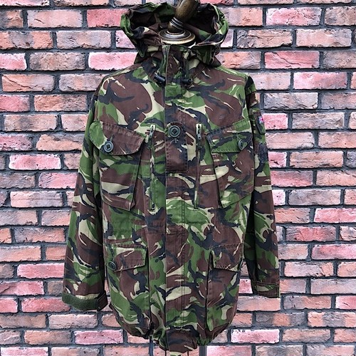1990s British Army Windproof Combat Smock Woodland DP 170/96