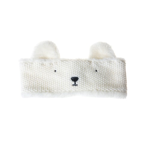 T914W POLAR BEAR HEAD WARMER