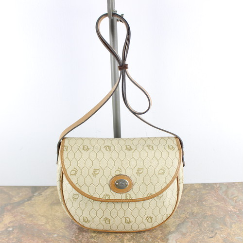 .Christian Dior LOGO SHOULDER BAG MADE IN FRANCE/クリスチャンディオールロゴショルダーバッグ2000000048253